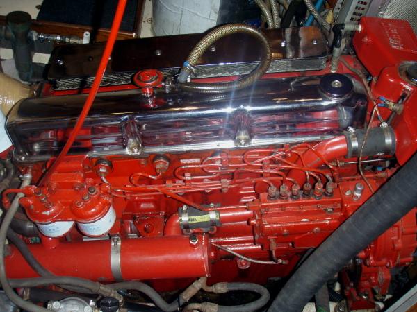 Rebuilt Ford Lehman Marine Diesel Engines